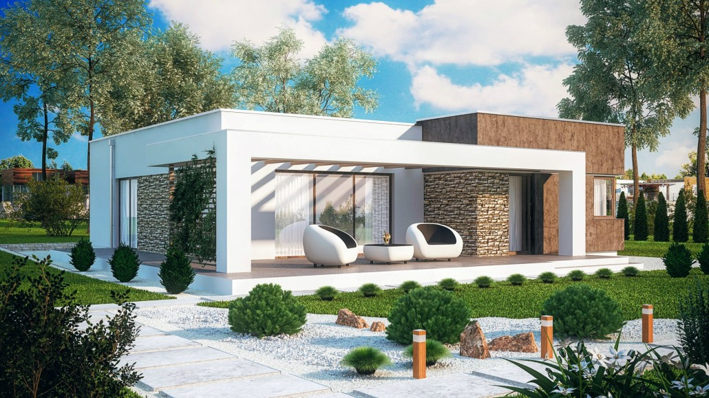 Moderndream Modern Family House A1 Disposition 3 Kk