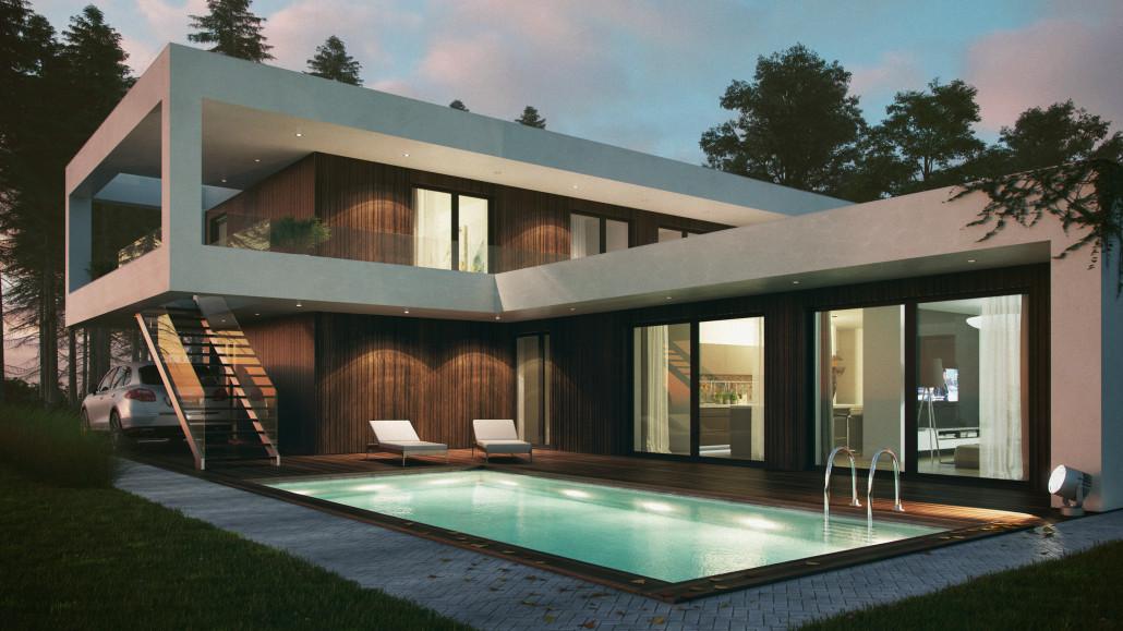 Modern Family House Q6 Disposition: 5+kk Usable Area: 228,7 M²