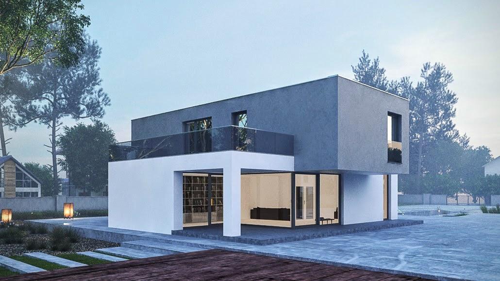 Katalog modern ch dom a bungalov moderndream for Modern family house 90210